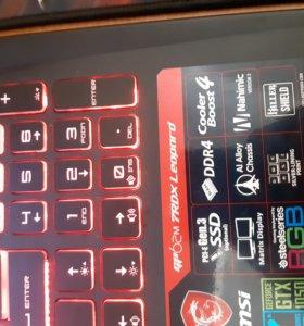 Ноутбук msi gp62m 7rdx leopard