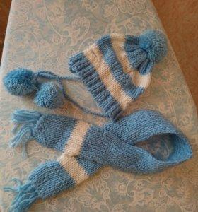 Шапочка и шарф 🧣
