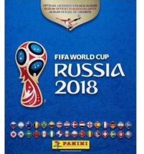 Наклейки Panini FIFA WC 2018