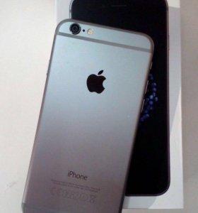 С 3D защитным стеклом, 32GB, iPhone 6, на гарантии