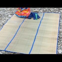 Бамбуковый коврик для пляжа
