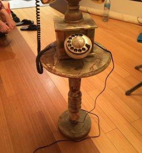 Домашний телефон из граниты