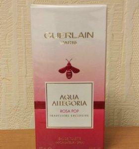 Aqua Allegoria Rosa pop Guerlain 100 мл лимитка