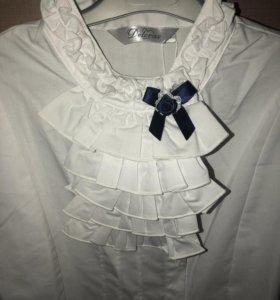 Блузка школьная, новая