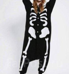 Пижама (кигуруми) СКЕЛЕТ