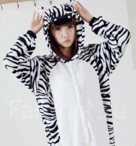 Пижама (кигуруми) ЗЕБРА