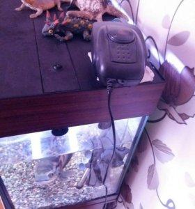 Панарамный аквариум 200 литро