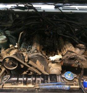 Двигатель+коробка+раздатка 6g74jdi