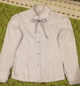 Блузка школьная. На 7-9 лет