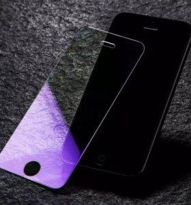Защитные стекла Anti Blue-Ray для iPhone 5/6/7