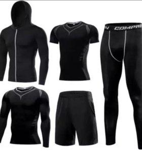 Комплект спортивной компрессионной одежды