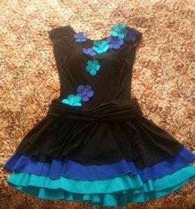 Платье бальное (латина) Ю-1.