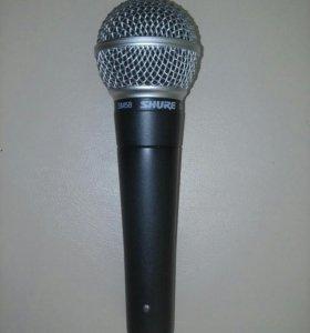 Новый профессиональный микрофон Shure SM58