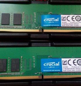 Оперативная память DDR4 2400 мгц 16 Гб