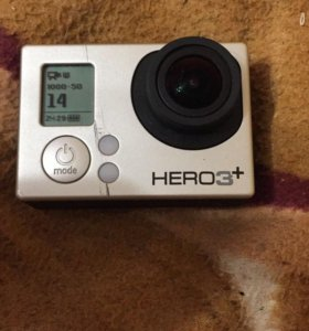 Экшн-камера GoPro HERO3+ Silver Edition