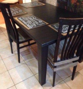 Стол кухонный раздвижной IKEA.