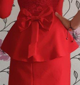 Платье одеть один раз