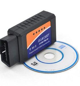 Сканер диагностический ELM 327 Wifi