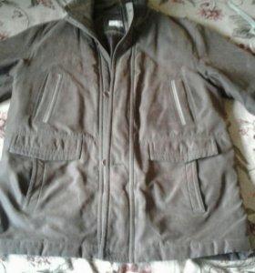 Тёплая фирменная куртка