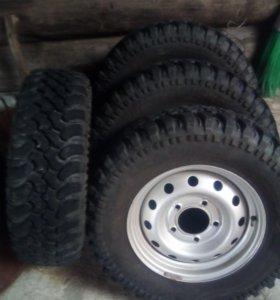 Комплект колес к ниве шеви