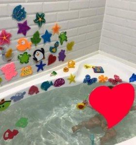 Игрушки в ванну