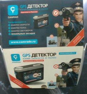 GPS Детектор камер скорости и полос CAMRAD