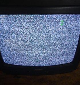 Телевизор филипс2500р без торга