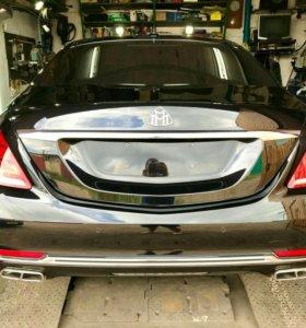 Полировка кузова и оптики автомобиля. Жидкое стекл