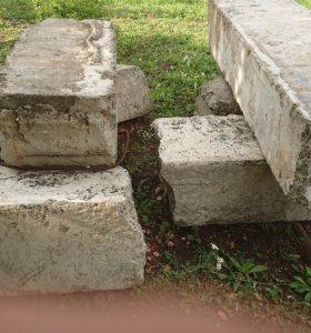 Фундаментые блоки б/у
