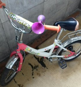 Велосипед колеса на 14