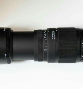 Sigma 70-300mm f4-5.6 DG OS для Nikon