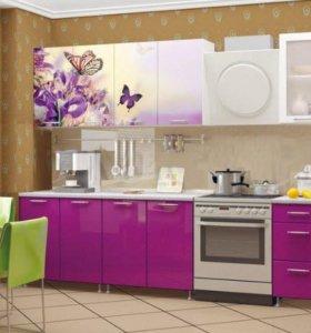 Кухня - Весна С Пеналом Фиолетовая