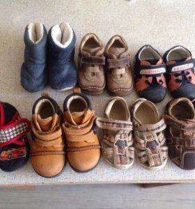 Пакет обуви с 19-22 размер
