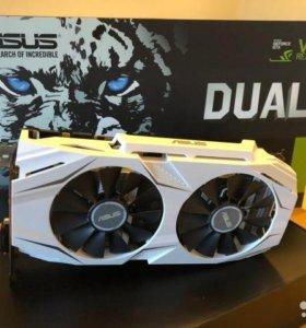 Asus GTX 1070 Dual 8Gb На гарантии