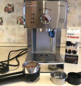Кофеварка Philips Saeco HD 8325, 4 мес испол.