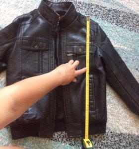 Куртка кож.зам. 122-128