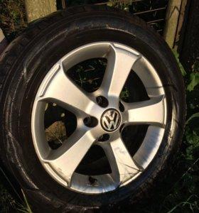 Колёса б/у Volkswagen Passat B6 лето.