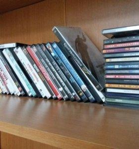 DVD, CD, Диски фильмы и музыки