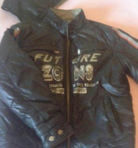 Куртка подростковая, двусторонняя