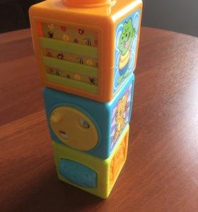 Развивающие кубики
