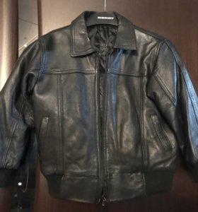 Куртка из натуральной мягкой кожи