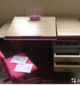 Парта стол для стильных девочек
