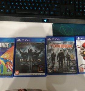 Игры от PS4