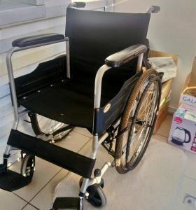 Инвалидная коляска для людей с большим весом
