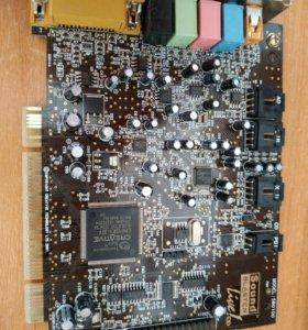 Звуковая карта sb0100
