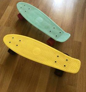 Скейтборд penny board (пенни борд)