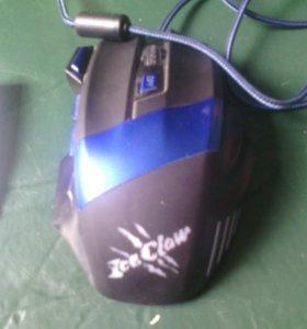 Игровая мышь Oklick IceClow