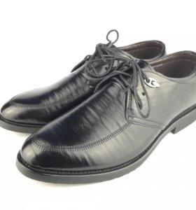 Мужские новые туфли (искуственная кожа)