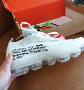 Кроссовки Nike vapormax x off white