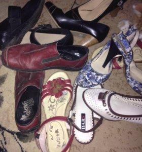 Обувь женская Р36